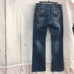 "Reba Jeans Sz 10 32"" inseam EUC"